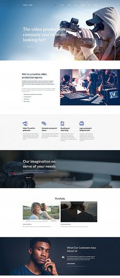 VIDEO LORD - #video  Production #studio  Premium Moto CMS 3 #website  #template