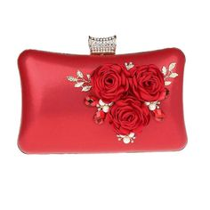 4171ba8e30571 EPLAZA Women Large Capacity Flora Evening Clutch Bags Wedding Party Purse  Handbags Wallet