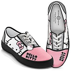 "Hello Kitty ""Face Of Fashion"" Women's Art Sneakers"