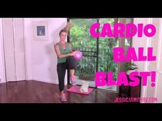 Aerobics, Cardio, Exercise, Full Length 30-Minute Workout Video: Cardio Ball Blast http://www.jessicasmithtv.com/video_posts/30-minute-cardio-ball-blast/