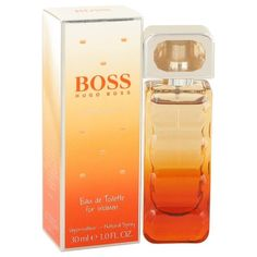 Boss Orange Sunset by Hugo Boss Eau De Toilette Spray 1 oz. Boss Orange Sunset by Hugo Boss was launched in 2010, for the vivacious and the flirty beauties. Embracing the beauty of the sunset and the dynamism of the citrus splurge, this fragrance is for the zealous women. The advertising face of this attention-grabbing aroma is Sienna Miller. The top notes of the fragrance open to the energizing accords of bergamot and mandarin orange. The white floral heart is accompanied by the luscious…