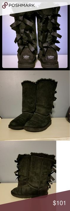 UGG Bailey Bow Tall Great Condition Authentic!! UGG Shoes Boots