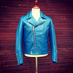Lewis Leathers Cyclone Jacket. (made in England, biker, rocker, leather jacket)