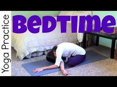 Bedtime Yoga Practice - YouTube