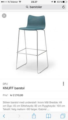 Gubi Chairs. Sæt på fire barstole (4)  