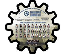 Placa de formatura Engenharia Química UFRN 2013.2