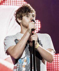 Luke onstage in Vienna