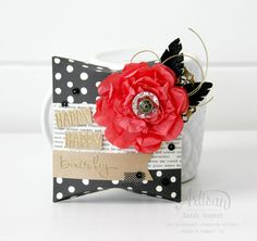 The Square Pillow Box Thinlit is one of my new faves! ~ Sarah Sagert