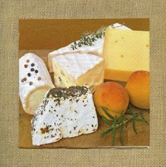 CLEARANCE SALE - NAPKINS - Artisan Cheeses