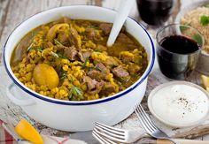 Lamb and Split Pea Persian Stew Recipe - Viva