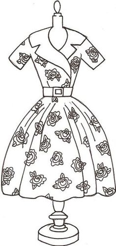 The Rose Dress Pattern