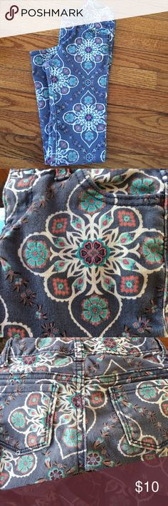 Printed skinny jeans Skinny jeans with an adjustable waist Old Navy Bottoms Jeans