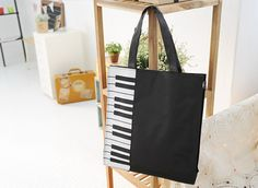 Sechuna Piano Tote Bag
