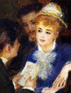 bofransson:    Reading the Part - Pierre Auguste Renoir - 1874-1876