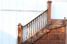 Delicieux Stair Newel Post, Newel Posts, Stairs, Staircases, Ladder, Stairway,  Stairways