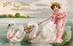 Vintage Valentines Postcards on Pinterest | Vintage Valentines ...