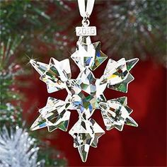 swavarski christmas snowflake
