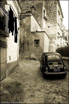 Fiat 500 in Galatina Puglia #TuscanyAgriturismoGiratola