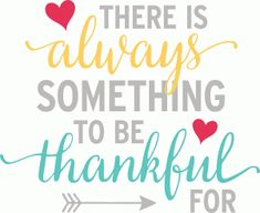Silhouette Design Store - View Design #83152: there is always something to be thankful for