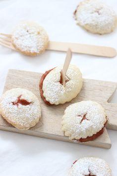 rhubarb ginger cookies