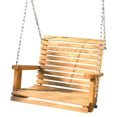 Babysitter Adult Swing - could work on a porch or the kids swing set.