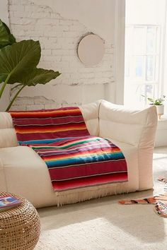 One-Of-A-Kind Woven Beach Blanket