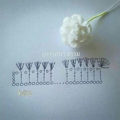 Watch The Video Splendid Crochet a Puff Flower Ideas. Phenomenal Crochet a Puff Flower Ideas. Yarn Flowers, Knitted Flowers, Crochet Flower Patterns, Crochet Art, Crochet Motif, Irish Crochet, Crochet Crafts, Crochet Stitches, Beginner Crochet