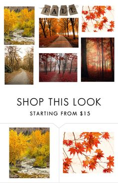 """""""fall"""" by odessa-hera ❤ liked on Polyvore featuring Grandin Road and WALL"""