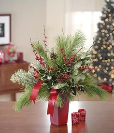 1355 Best Christmas Floral Images In 2019 Christmas