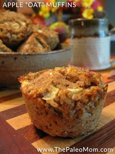 "Apple ""Oat"" Muffins"