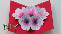 Basteln mit Papier / Pop Up Blumen Karte basteln: Diese Karte ist die idkeale Bastelidee zum Muttertag sowie auch zu Geburtstagen. Sie ist auch sehr einfach zu basteln so das man die Bastelidee auch sehr gut mit Kindern zum Geschenke basteln hernehmen kann. Diy, Art, Papier, Basteln,
