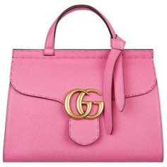f22e2c02d4794 Gucci Marmont GG Tote (121,445 INR) ❤ liked on Polyvore featuring bags,  handbags, tote bags, handbag tote, pink handbags, pink tote bag, gucci tote  and ...