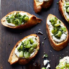 Lima Bean and Ricotta Crostini and 34 more bruschetta and crostini recipes - Food & Wine