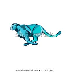 Find Low Polygon Style Illustration Cheetah Running stock images in HD and millions of other royalty-free stock photos, illustrations and vectors in the Shutterstock collection. Thousands of new, high-quality pictures added every day. Polygon Art, Wildlife Art, New Pictures, Cheetah, Retro Fashion, Royalty Free Stock Photos, Running, Logo, Illustration