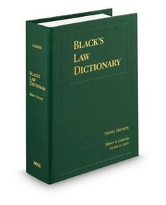 Black's law dictionary / Brian A. Garner, editor in chief