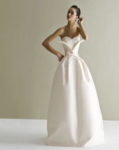 Bold and Modern Antonio Riva Wedding Dresses - MODwedding