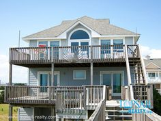 Vacation Rental Topsail Beach-S. Anderson Area & Oceanfront | C-MAID