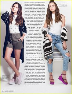 Bailee Madison Gushes All Over Her Fans In 'Glamoholic's November 2015 Issue: Photo #893497. Bailee Madison shows off her glam side in her new feature for the November issue of Glamoholic magazine.    The 16-year-old Good Witch star opened up about her upcoming…