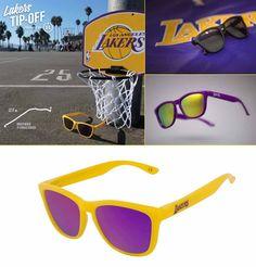 """""""Modelo de Hawkers para el equipo de la NBA, Los Ángeles Lakers"""""""