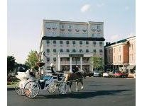 Gettysburg Hotel - The award winning Gettysburg Hotel is the perfect setting for your once in a lifetime event. The Gettysburg National Bank, built in 1814, is now the home of our Historic Grand Ballroom featuring 28 foot hand-painted ceilings, inlaid with gold, green and burgundy colors and a Grecian border.