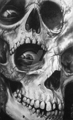 Just Skulls by liorcifer666