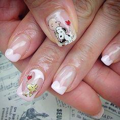 snoopy nail                                                                                                                                                                                 More