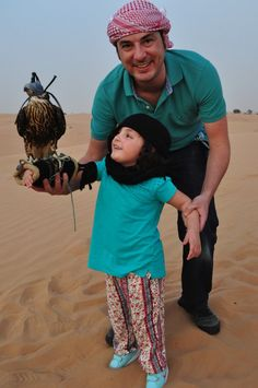 Platinum Heritage Safari em Dubai - Falcoaria no deserto