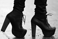 Own a pair of Jeffrey Campbell shoes High Heel Boots, Heeled Boots, Shoe Boots, Shoes Heels, Pumps, Boot Heels, Platform Boots, Jeffrey Campbell, Jeffery Campbell Boots