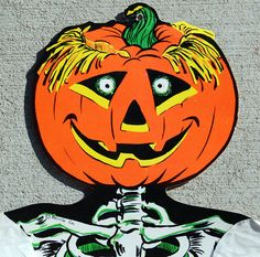 heres a lucky 13 gallery of vintage halloween paper decorations from the king of vintage halloween beistle