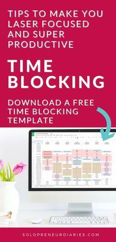 Time Blocking Templa