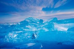 Alexey Trafimov Les Glaces du Lac Baïkal – Russie   One360.eu