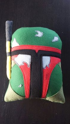 Boba Fett Star Wars Pillow cushion throw pillow by telahmarie, $34.00