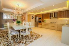 Apartamento LM em Ponta Grossa, PR realizado por Panatto Hilgemberg Arquitetura, Arquiteto, Decorador, Designer de interiores, Paisagista.