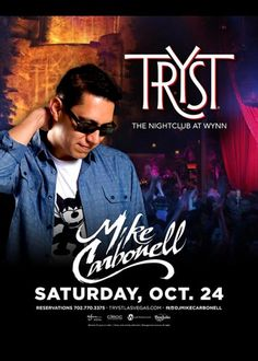 Mike Carbonell at Tryst Nightclub